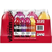 12 Pack Vitaminwater Variety Pack 20 Ounce
