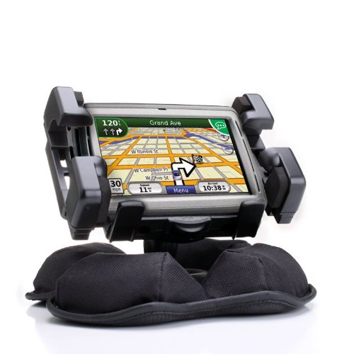 USA GEAR Portable Friction Dashboard Car Mount & C