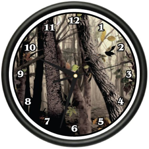 Best Buy Military Discount >> Sale Tree Camo Wall Clock Hunter Print Military Disguise
