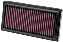 K&N HD-1208 Harley Davidson High Performance Replacement Air Filter