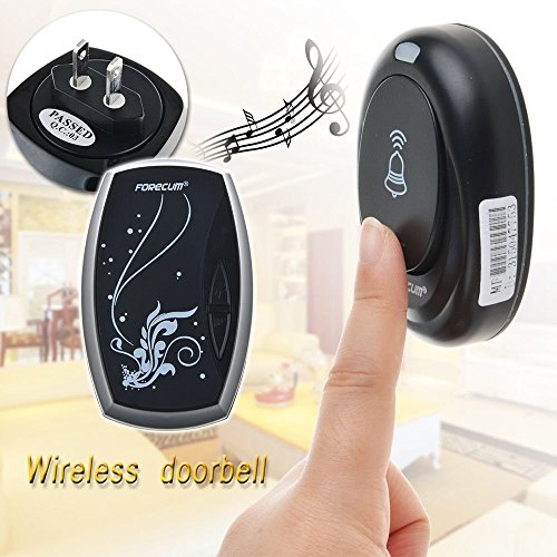 36 Songs Wireless Receiver Remote Control 100M Waterproof Doorbell Door Bell (Garage Door Hardware Tune Up Kit compare prices)