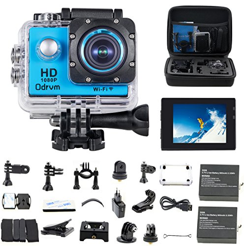 WIFI Underwater Camera 2.0-Inch LCD HD 1080P Sports Action Cameras