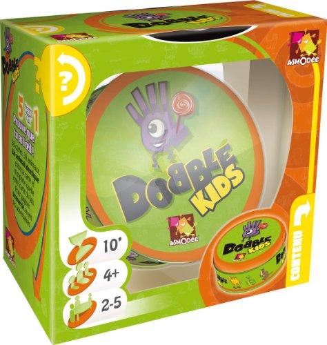 Asmodee 001769 - Dobble Kids, Reaktionsspiel von Asmodee Gmbh