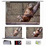 10 PCS Sticker Decal For Apple Macbook Pro/Air 11 13 15 Inch - Animals Ape Branches S Trees Hanging