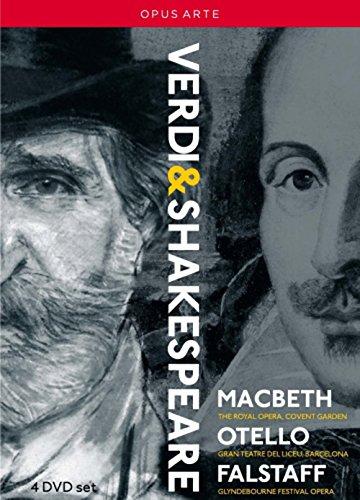 Verdi: Shakespeare-Opern (MacBeth, Otello, Falstaff) [4 DVDs]