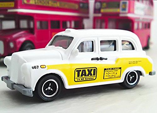 Matchbox Austin FX4 London Taxi weiß-gelb – MBX City Action Metal jetzt kaufen