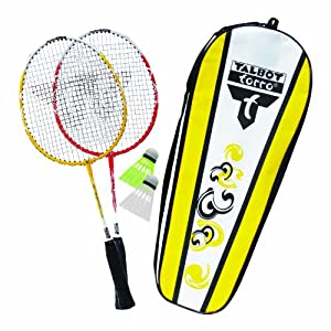 Talbot Torro 2 Attacker Junior-Set mixte enfant Jaune/Blanc Taille Unique