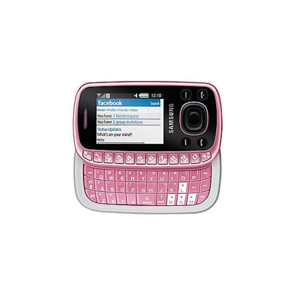 Samsung B3310 Unlocked Cell Phone with 2 MP Camera (Pink)