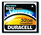 Duracell High Speed 32 GB 600X USB 2.0 Compact Flash Card Card UDMA DU-CF6032G-C