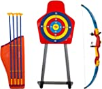 Kids Toy Bow & Arrow & Holder Archery...