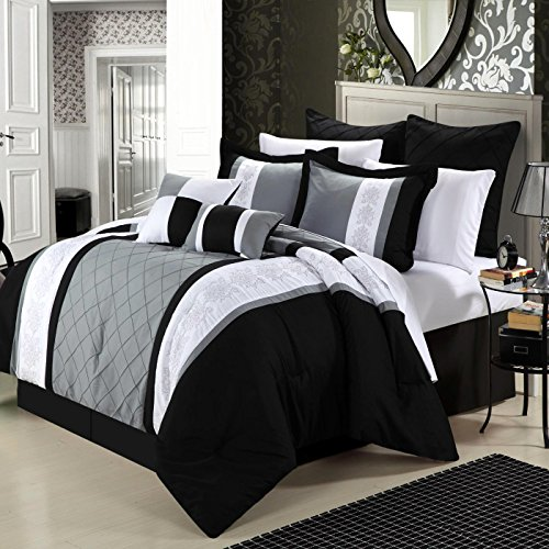 Black King Size Comforter Sets