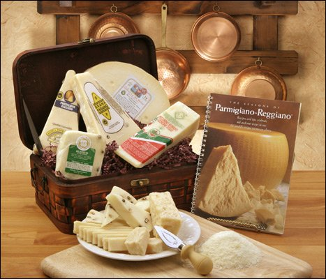 Formaggio (Italian Cheese Gift Basket)