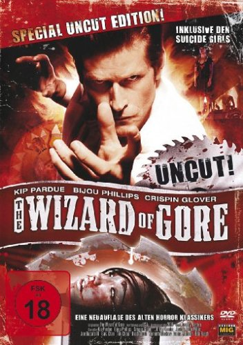 The Wizard of Gore (Special uncut Edition) [Special Edition], DVD