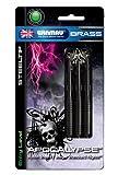 Winmau Apocalypse Black Brass 26g Darts Set