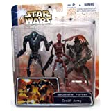 Droid Army Separatist Forces Star Wars Clone Wars Figure 3 Pack