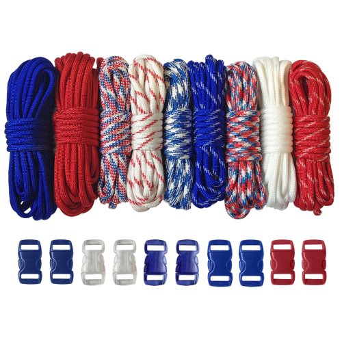 Paracord Planet 550lb Type III Paracord Combo