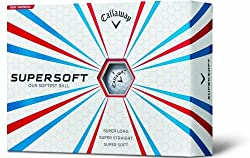 Callaway Supersoft PK14 Golf Balls, Pack of 12 (White)