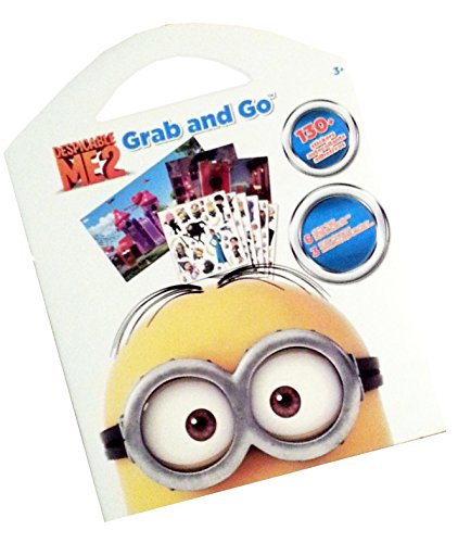 Despicable Me 2 Grab and Go Sticker Sheets & Play Scenes