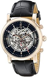 Lucien Piccard Men's LP-40010A-RG-01 Sultan Analog Display Automatic Self Wind Black Watch