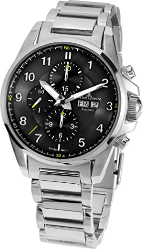 Jacques-Lemans-Mens-1-1750D-Liverpool-Automatic-Analog-Display-Swiss-Automatic-Silver-Watch