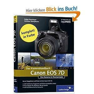 eBook Cover für  Canon EOS 7D Das Kamerahandbuch Ihre Kamera im Praxiseinsatz