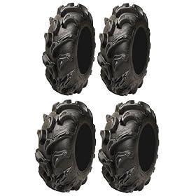 set of 4 atv tires - Full set of ITP Mega Mayhem (6ply)