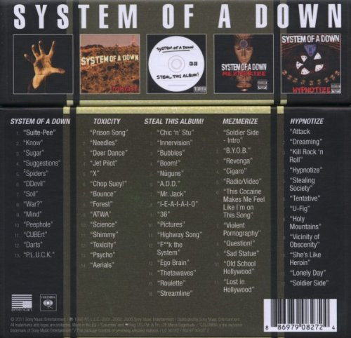 System Of A Down-Spider Скачать