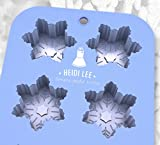 Snowflake Silicone Mold ❄︎ Christmas Baking & Crafts ❄︎ Chocolate, Cupcakes, Ice Cubes, Soap & Candles