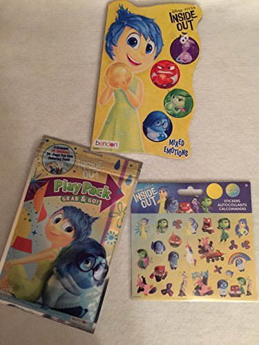 Disney Pixar Inside Out Mixed Emotions Play Pack Grab & Go - 1