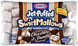 Kraft, Jet Puffed, Marshmallows, Chocolate & Vanilla Swirl, 8oz Bag (Pack of 4)