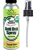 #1 Organic Insect Repellent Travel Size ? USDA Certified Organic, 2 fl.oz ? DEET Free, Kid Safe ? No synthetic chemicals, No Alcohol ? Cruelty Free, No animal tested ? Made in USA ? US Organic