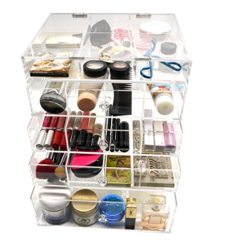 Putwo Birthday Gifts For Her Present 5 Tier Mac Makeup Organiser