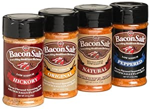 Jds Bacon Salt Sampler 4-pack from J & D Foods