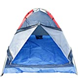 Yr.seasons 2-person Double-person Lovers Couple Single Layer Dome Folding Tent with Carry Bag for Outdoor Bivouac Hiking Camping (Random Color)