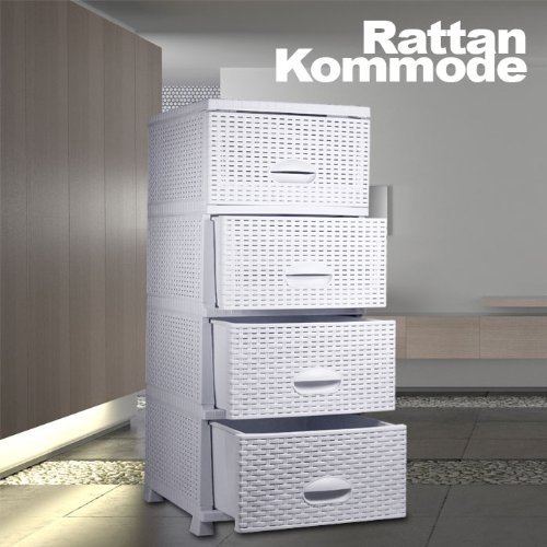 Rattan kommode weis kreative ideen f r innendekoration for Kommode rattan