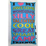 Bunk Junk I Love My Camp Friends Autograph Pillow for Sleep Away Camp, Birthdays, Parties and Family Events at Sears.com