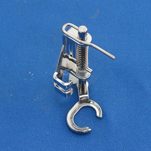 Tinksky Domestic Sewing Machine Open Toe Metal Quilting Embroidery Presser Foot for Brother Singer Janome Toyota