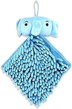 Wow Kitchen - Cute Kids Hand Towels - Adorable Diamond Style Fingertip Towels For Children - Blue El