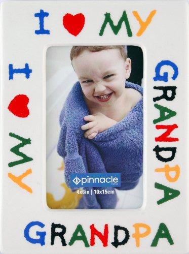 Pinnacle Frames I Love Grandpa Desk Frame, 4 inch by 6 inch ...