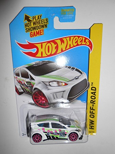 2014 Hot Wheels Treasure Hunt Hw Off-Road - '12 Ford Fiesta - [Ships in a Box!]