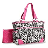 Carters Fashion Tote Bag, Zebra Print