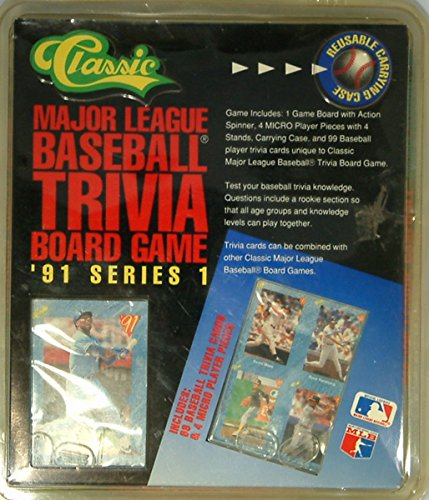 MLB Trivia Board Game - 91 Series 1