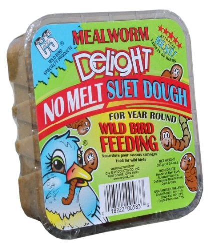 Detail image C & S Products Mealworm Delight, 12-Piece
