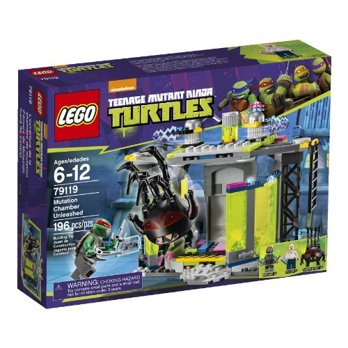 LEGO, Teenage Mutant Ninja Turtles, Mutation Chamber Unleashed Building Set (79119)