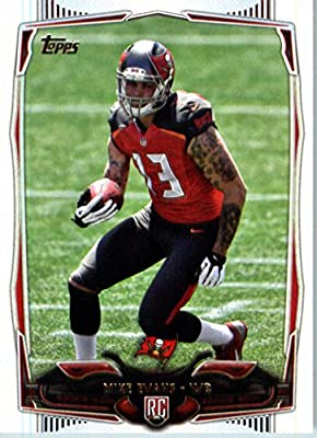 2014 Topps NFL Football Card #387 Mike Evans Tampa Bay Buccaneers ROOKIE CARD