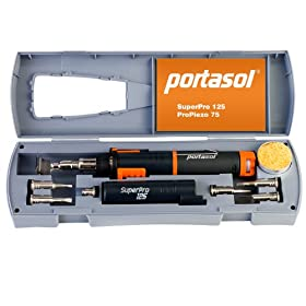 Portasol 010589330 Super Pro 125 Watt Heat Tool Kit