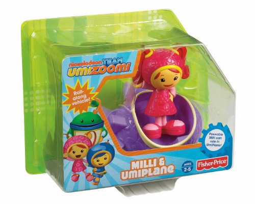Fisher-Price Team Umizoomi Milli and UmiPlane - 1