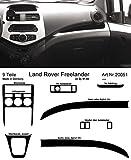 Prewoodec Cockpit Dekor f�r Landrover Freelander LN 01.1998 - 10.2006 Wei� (Exklusive 3D Fahrzeug-Ausstattung - Made in Germany)