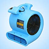 Max Storm Floor & Carpet Drying Fan Blower Air Mover by Soleaire 2800 CFM Airflow Blue Color!