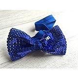 Azul nuit. revestimientos de pelo, diseño con lentejuelas flexibles